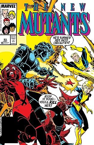 New Mutants (1983-1991) #53