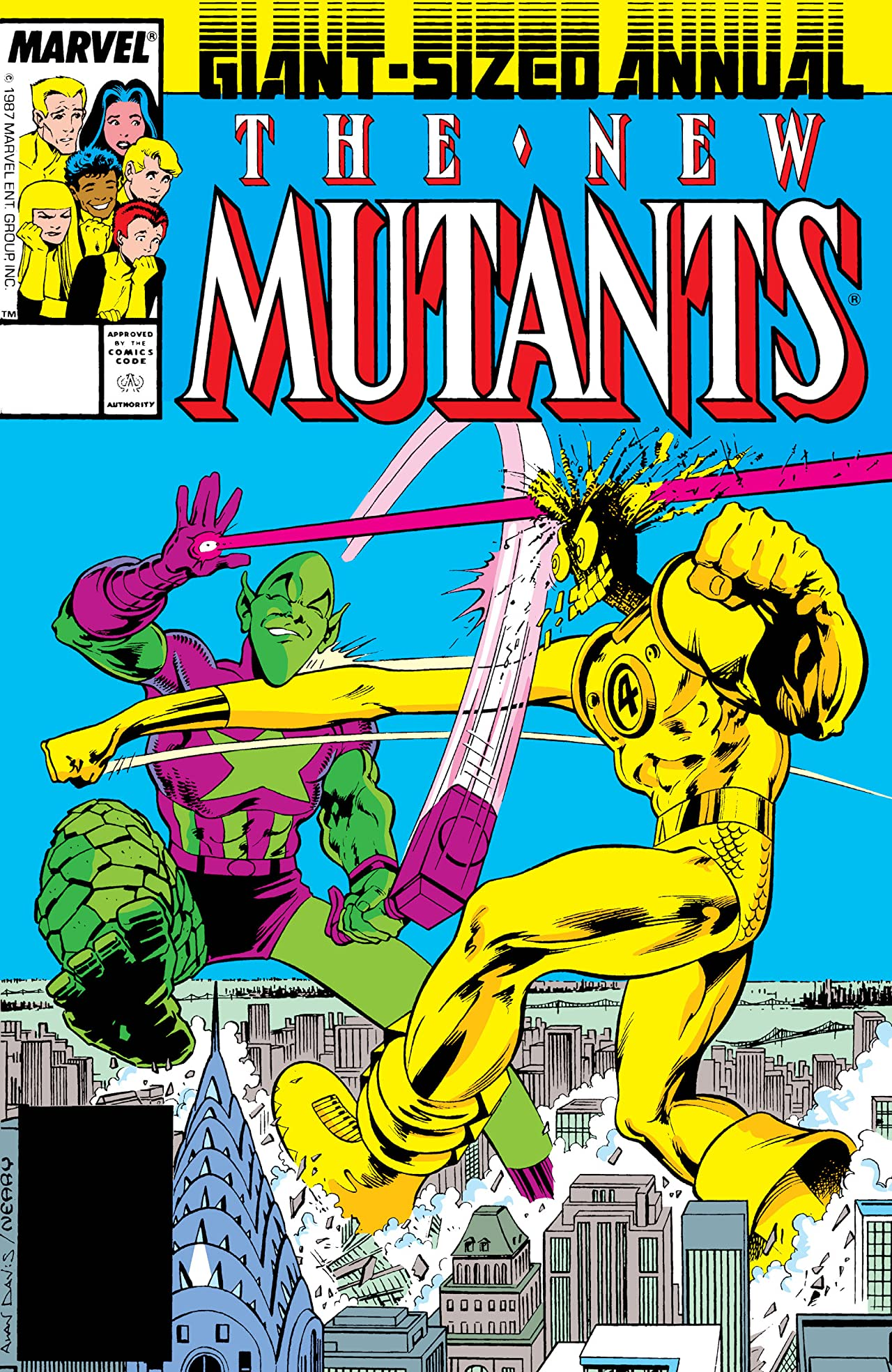 New Mutants (1983-1991) Annual #3