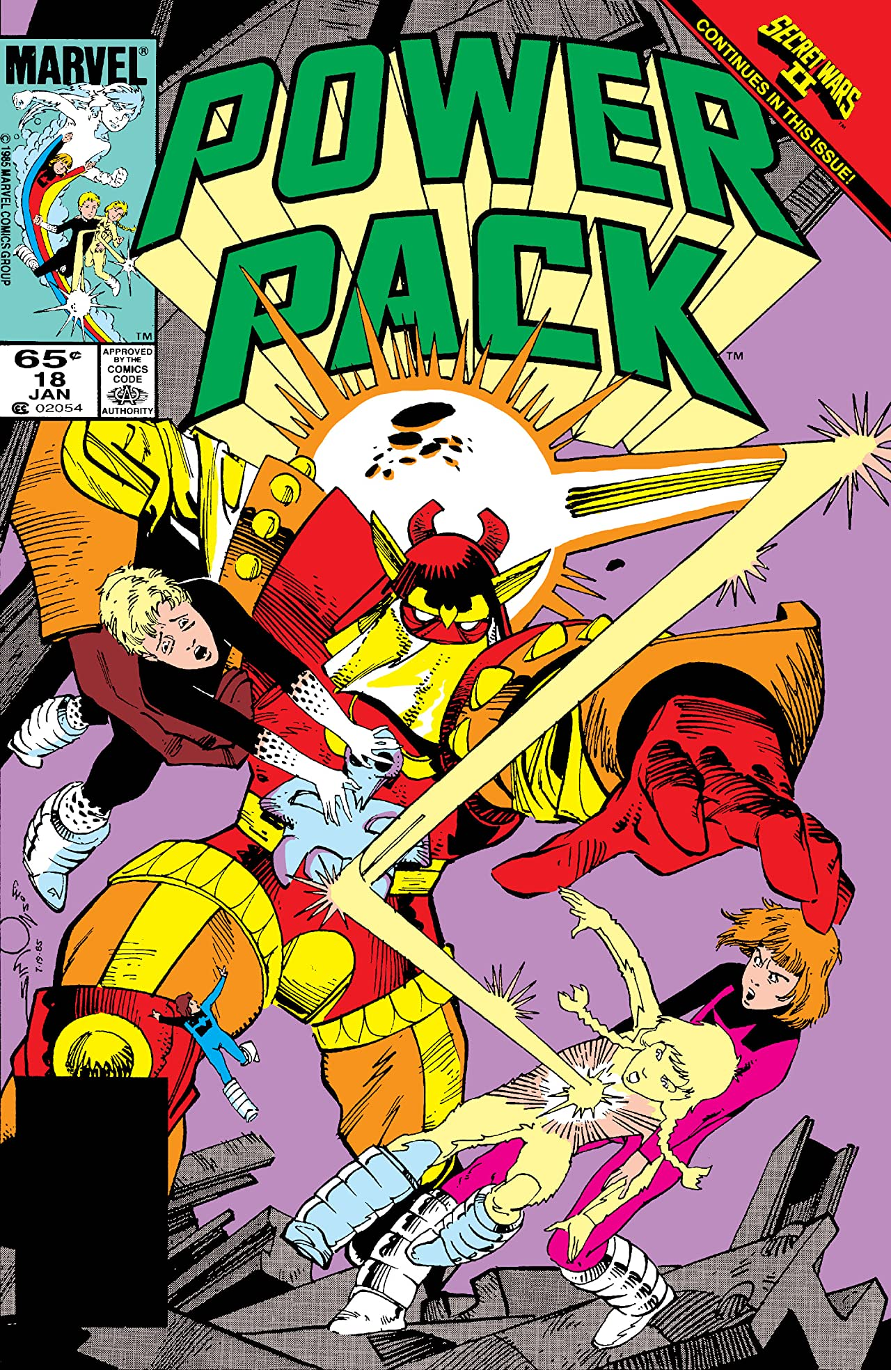 Power Pack (1984-1991) #18