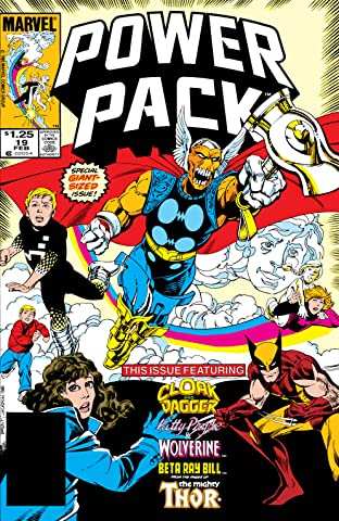 Power Pack (1984-1991) #19