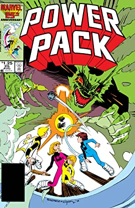 Power Pack (1984-1991) #25