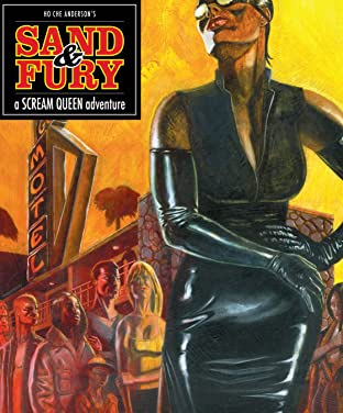 Sand & Fury: A Scream Queen Adventure