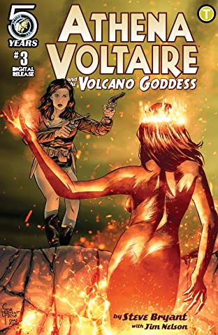 Athena Voltaire and the Volcano Goddess No.3