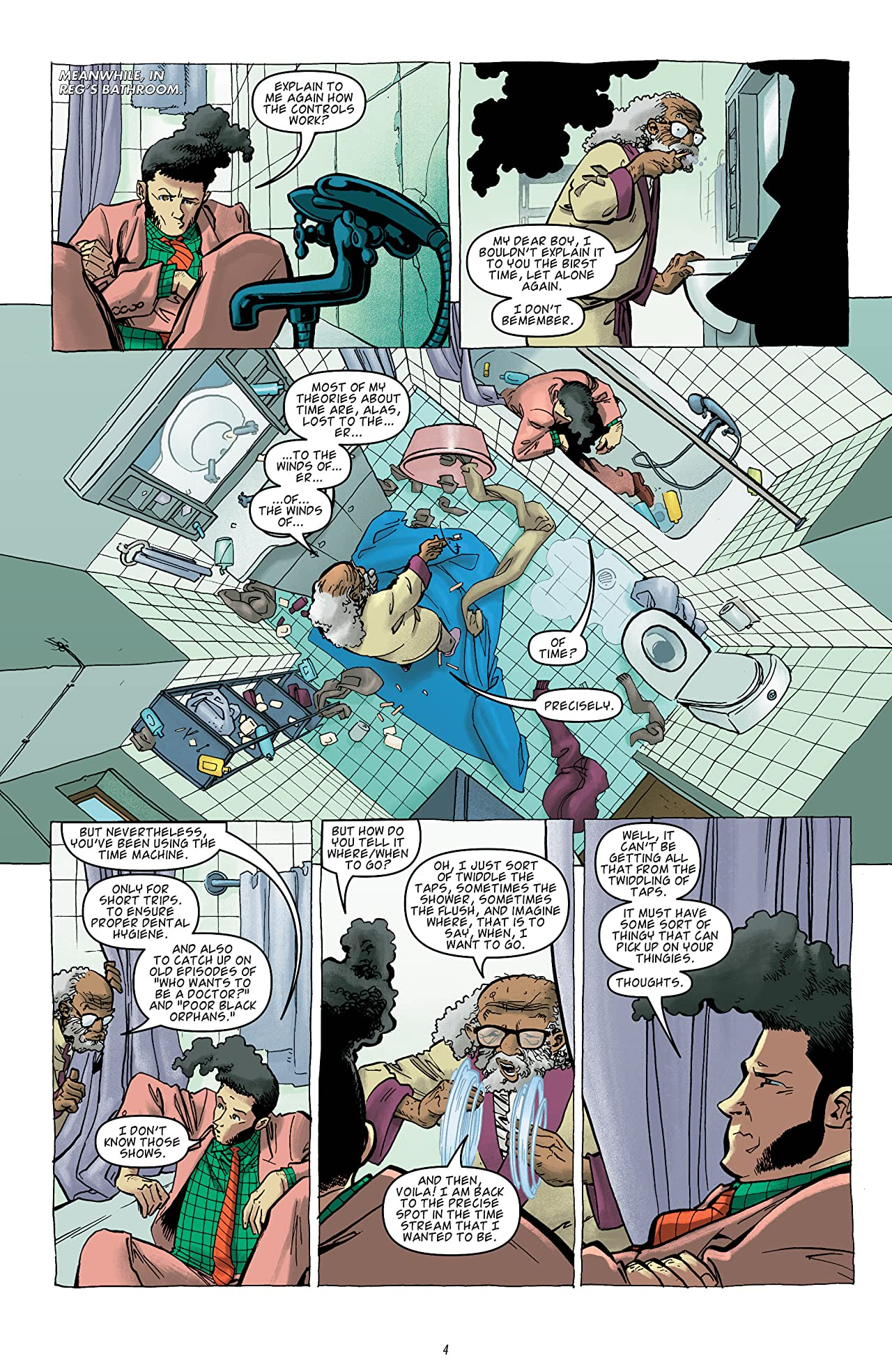 Dirk Gently: The Salmon of Doubt #2