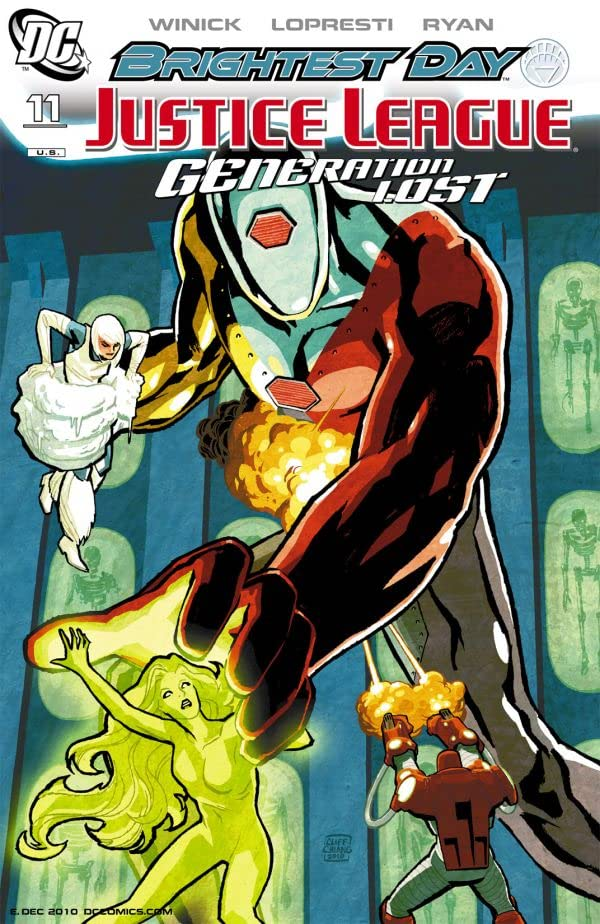 Justice League: Generation Lost #11