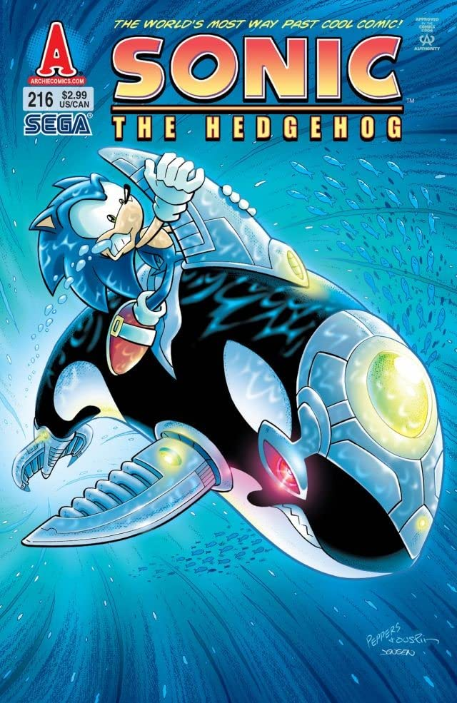 Sonic the Hedgehog #216