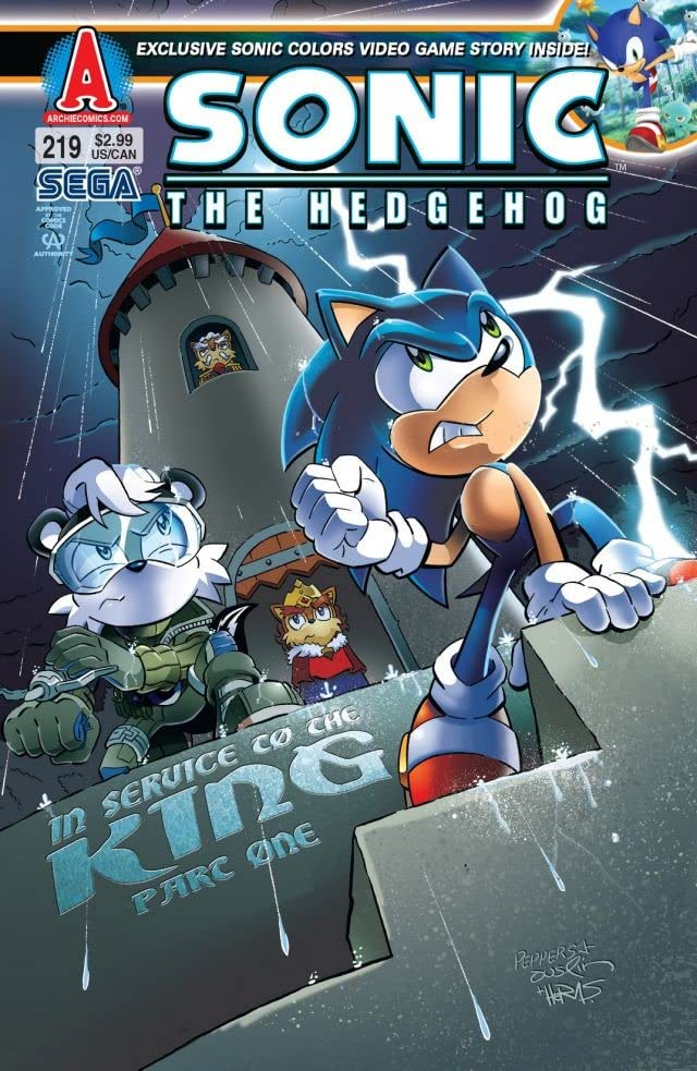 Sonic the Hedgehog #219
