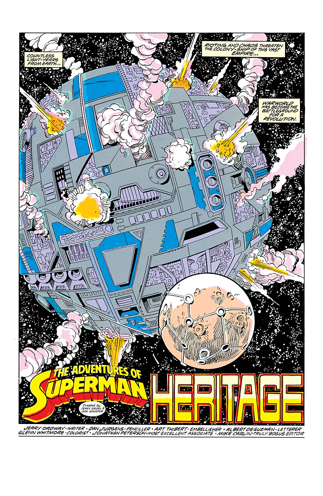 Adventures of Superman (1986-2006) #455