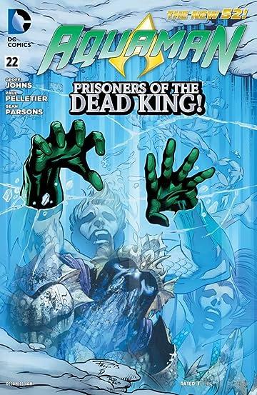 Aquaman (2011-) #22