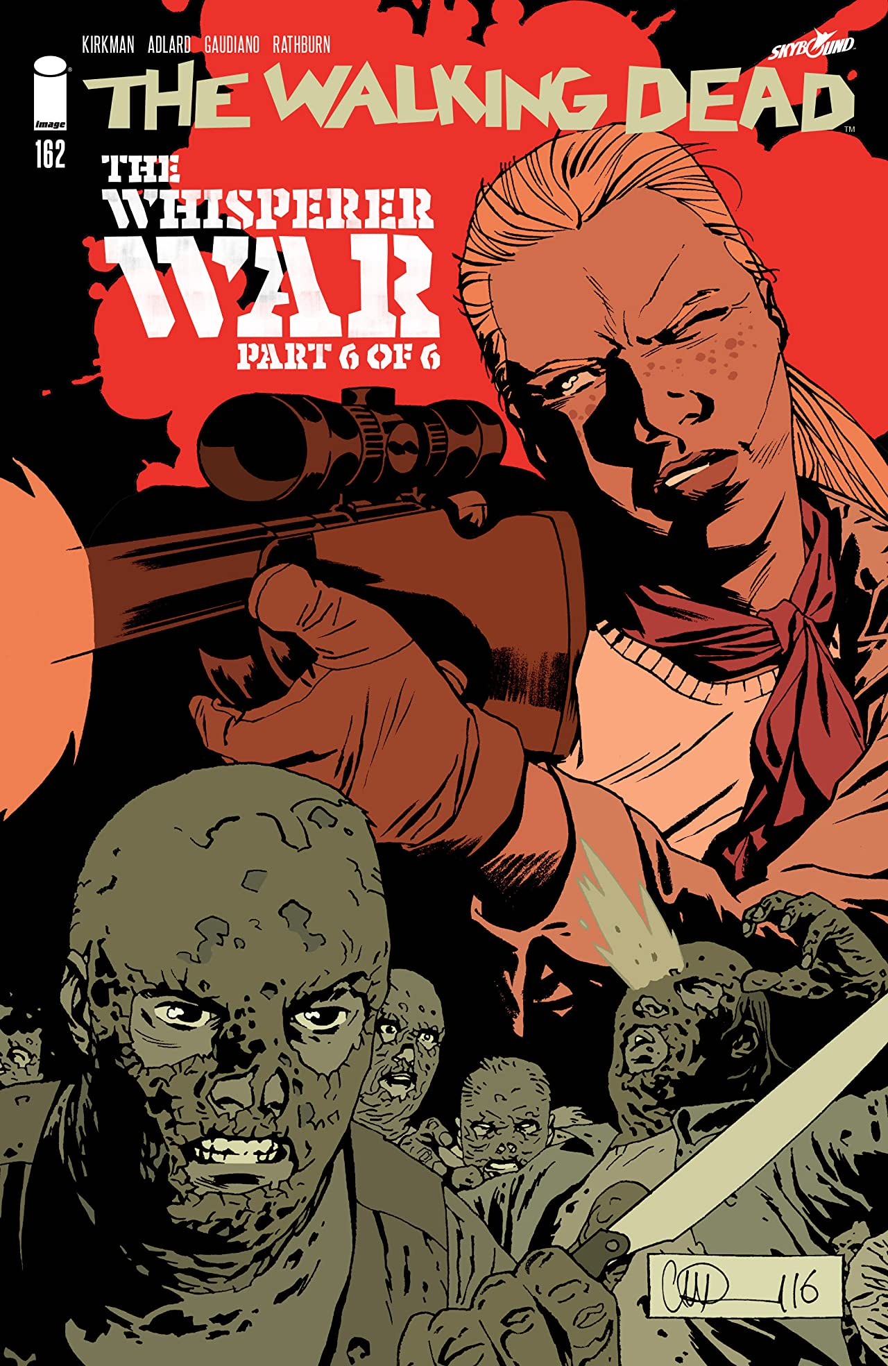 The Walking Dead No.162