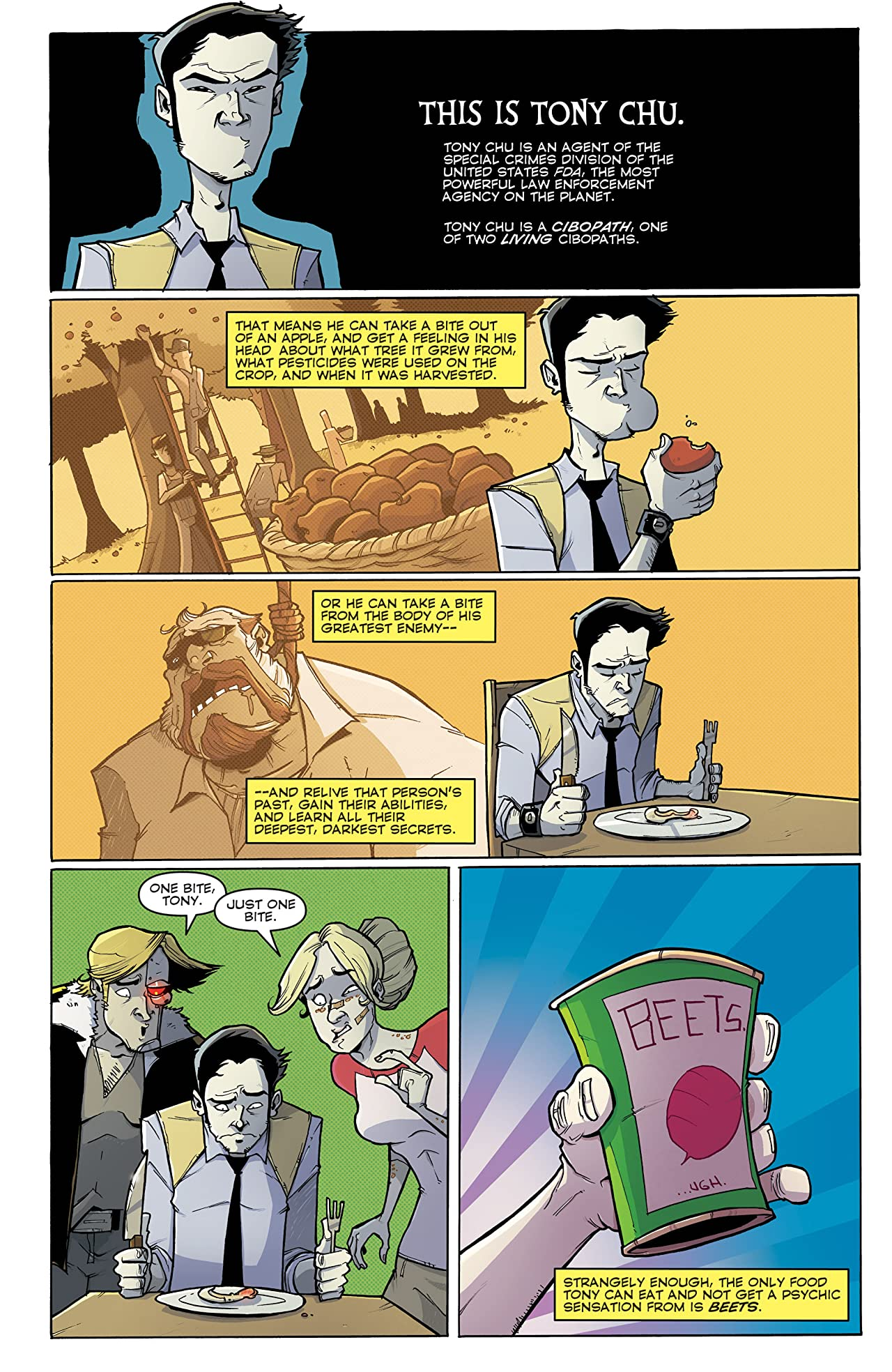 Chew Vol. 12: Sour Grapes