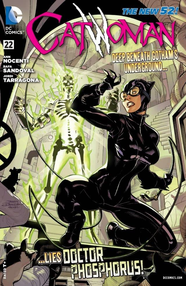 Catwoman (2011-2016) #22