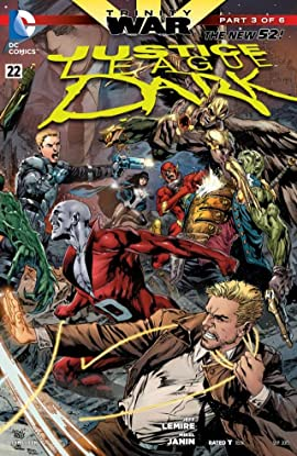 Justice League Dark (2011-2015) #22