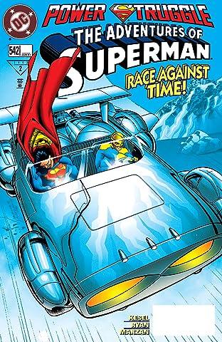 Adventures of Superman (1986-2006) #542