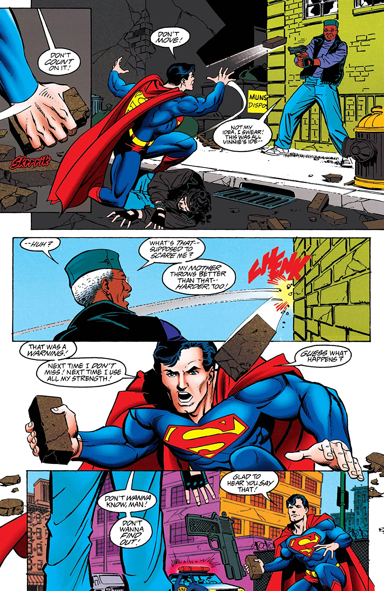 Adventures of Superman (1986-2006) #542
