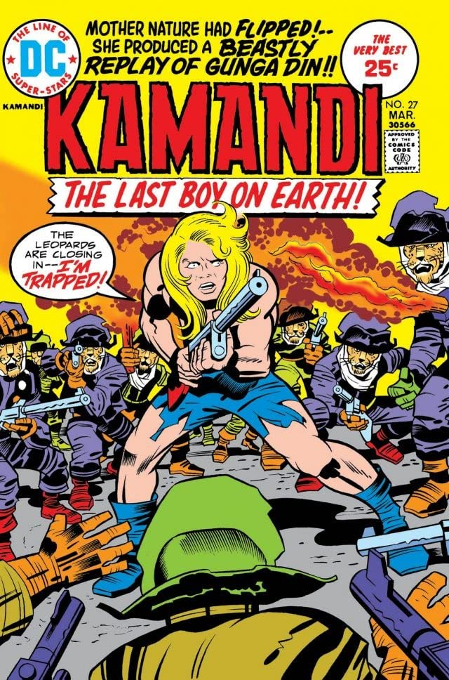 Kamandi: The Last Boy on Earth (1971-1978) #27