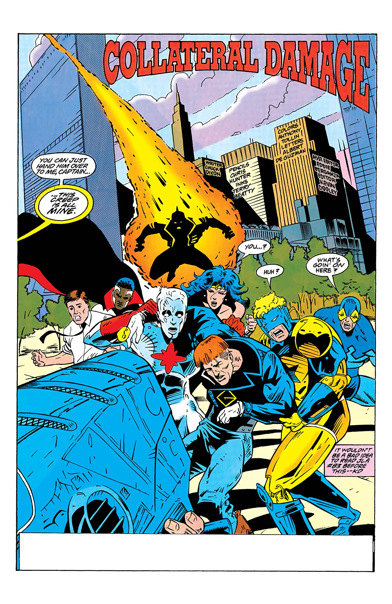 Guy Gardner: Warrior (1992-1996) #15