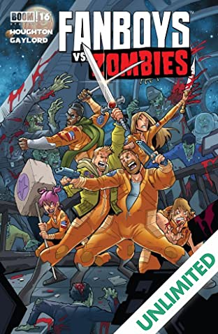 Fanboys vs. Zombies #16