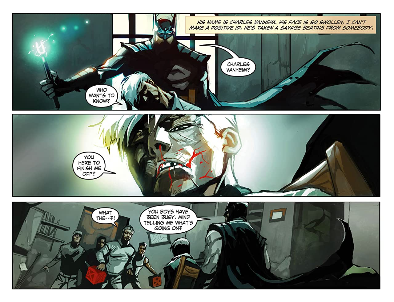 Legends of the Dark Knight (2012-2015) #60
