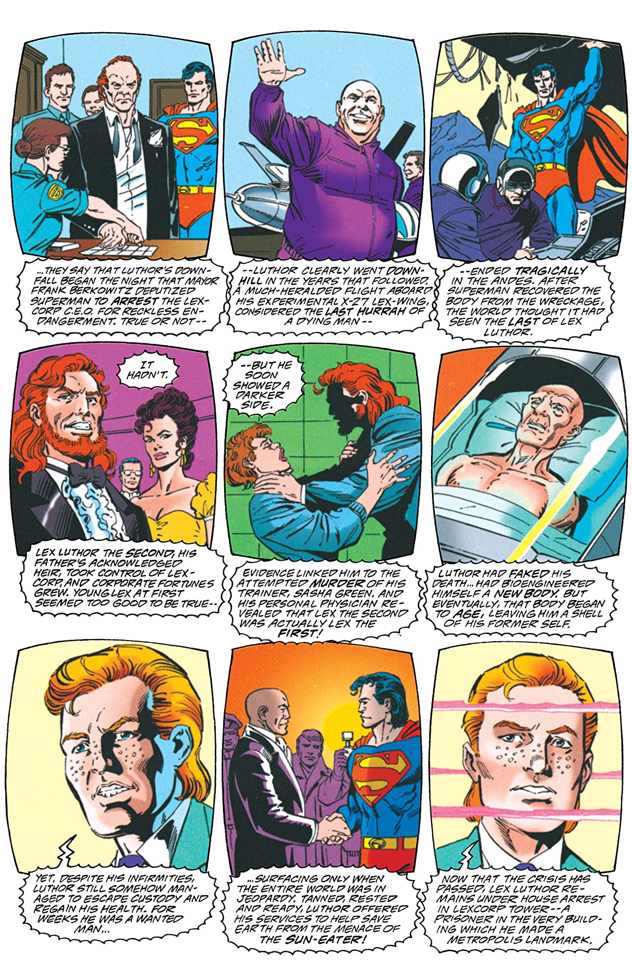 Superman: The Man of Tomorrow (1995-1999) #7