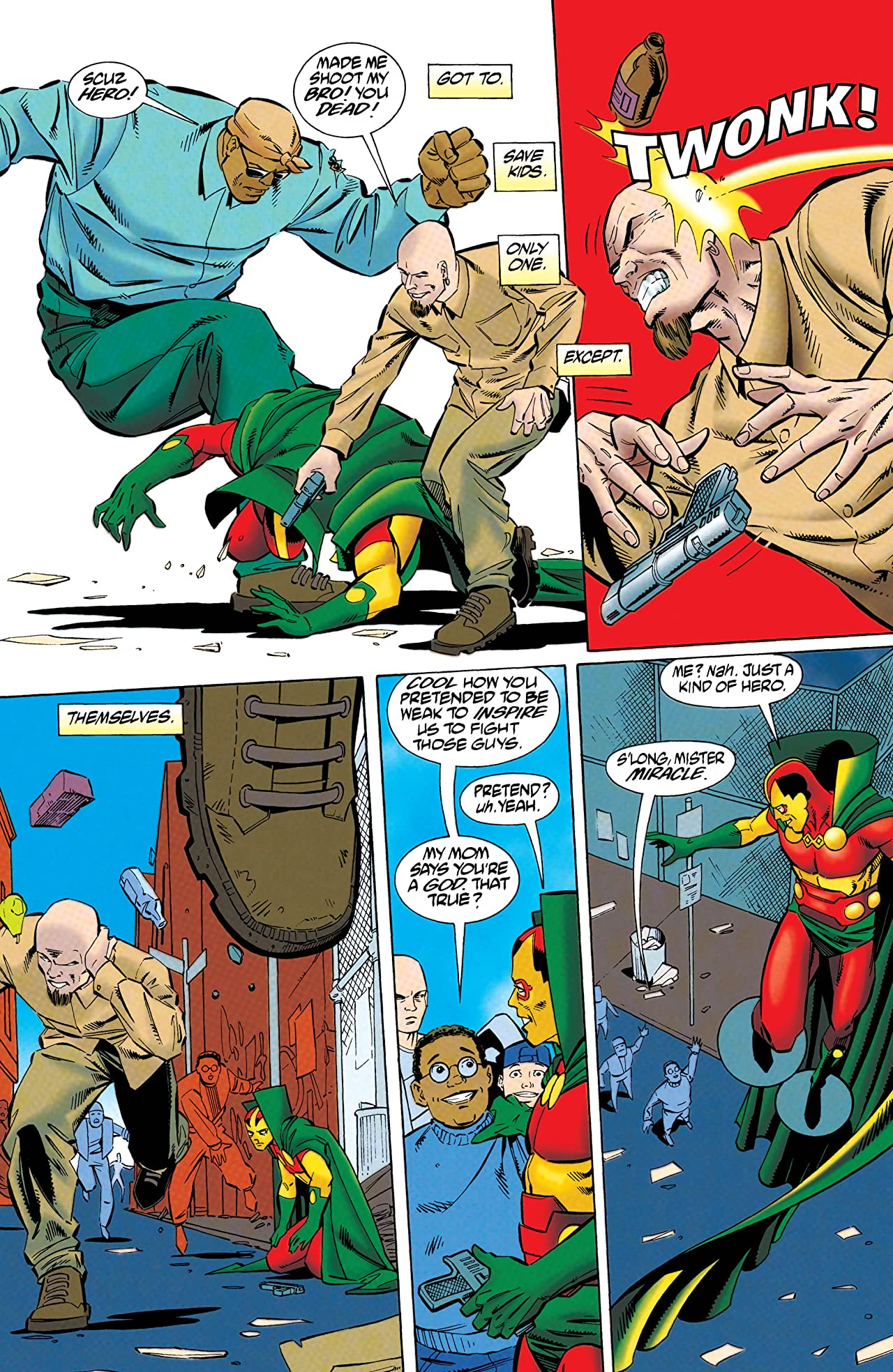 Mister Miracle (1996) #7