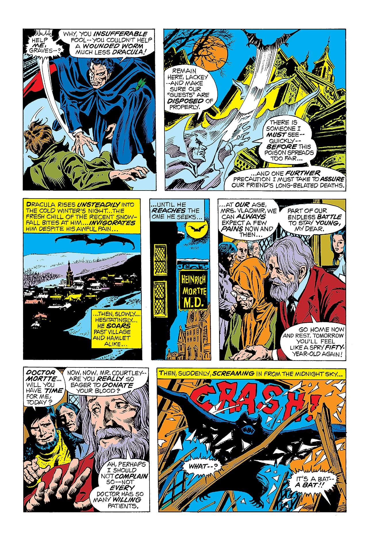 Tomb of Dracula (1972-1979) #8