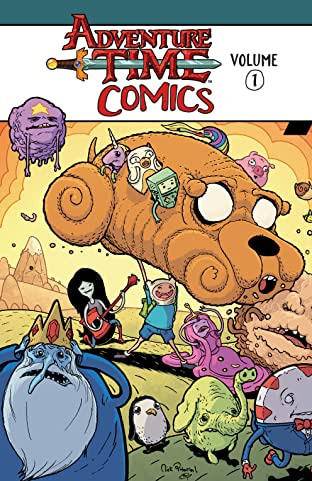 Adventure Time Comics Tome 1