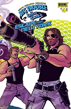 Big Trouble in Little China/Escape from New York #4 (of 6)