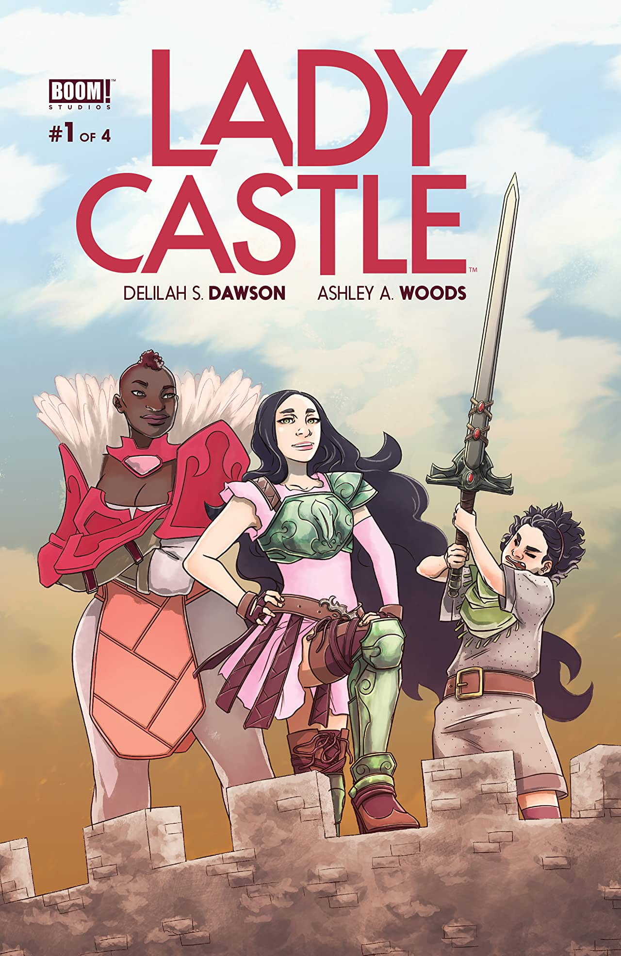 Lady Castle #1 (of 4)