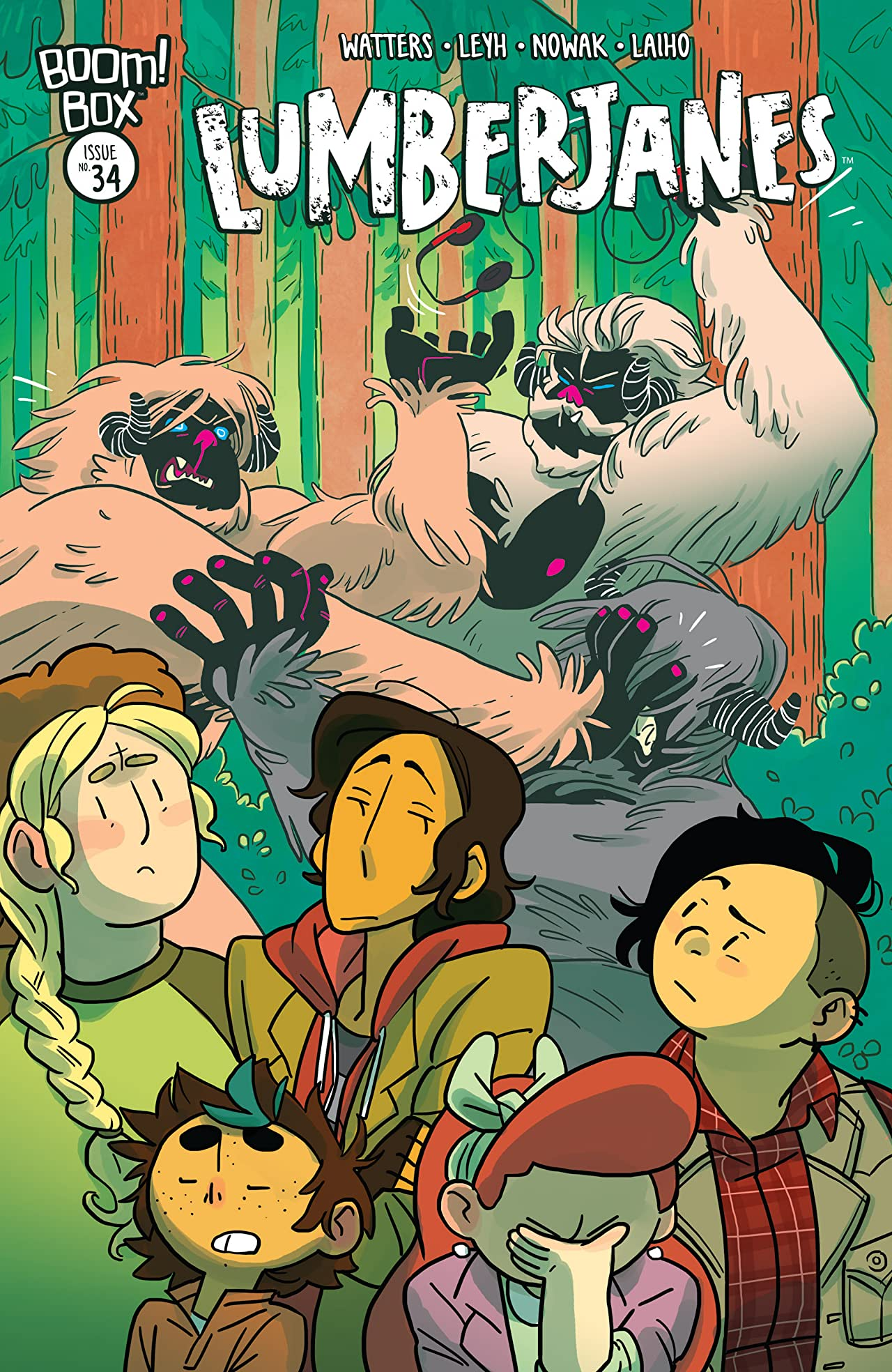 Image result for lumberjanes issue 34
