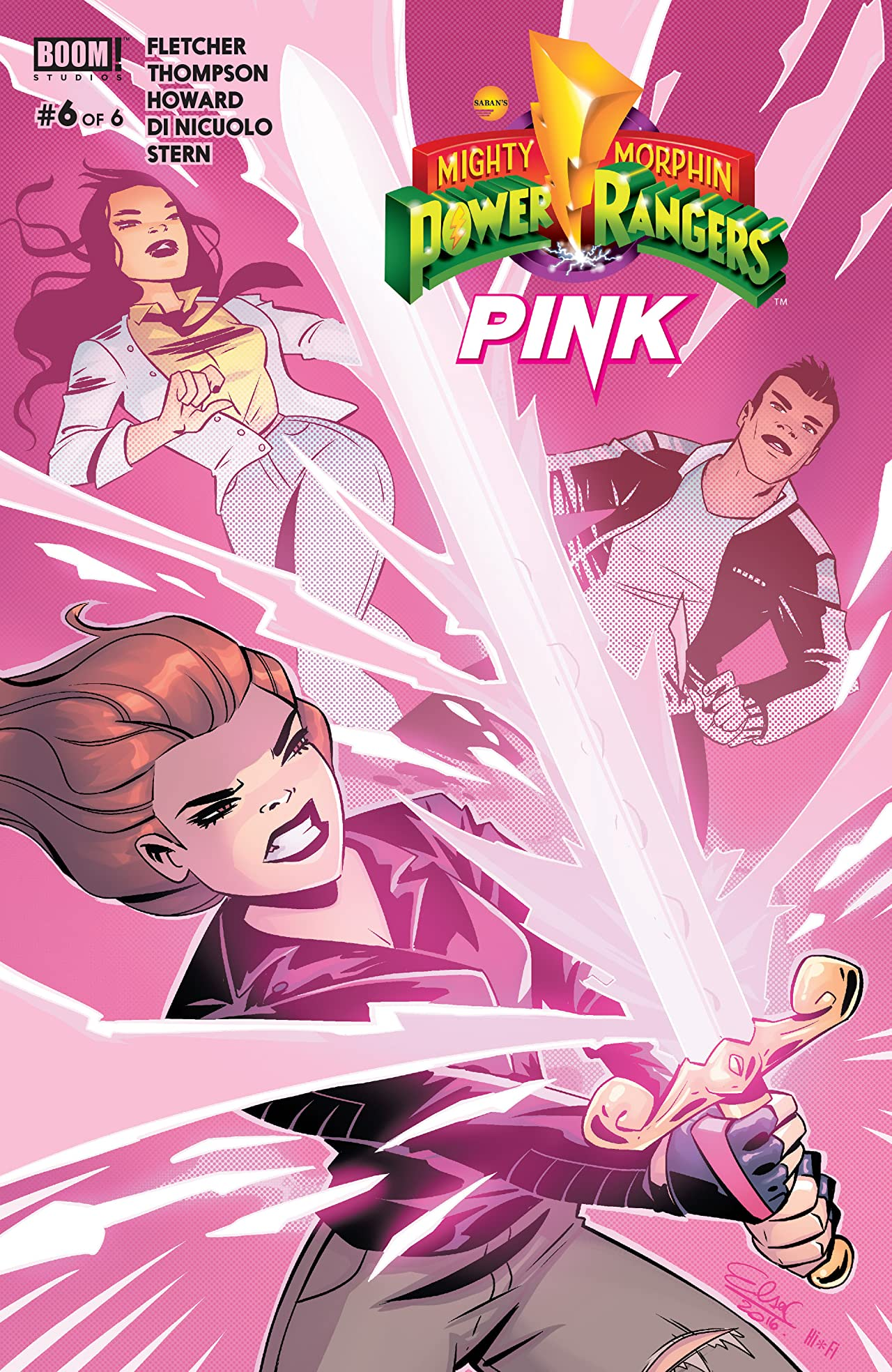 Mighty Morphin Power Rangers: Pink #6 (of 6)