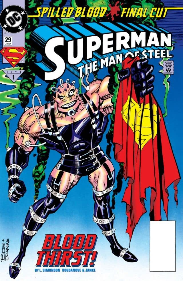 Superman: The Man of Steel (1991-2003) #29