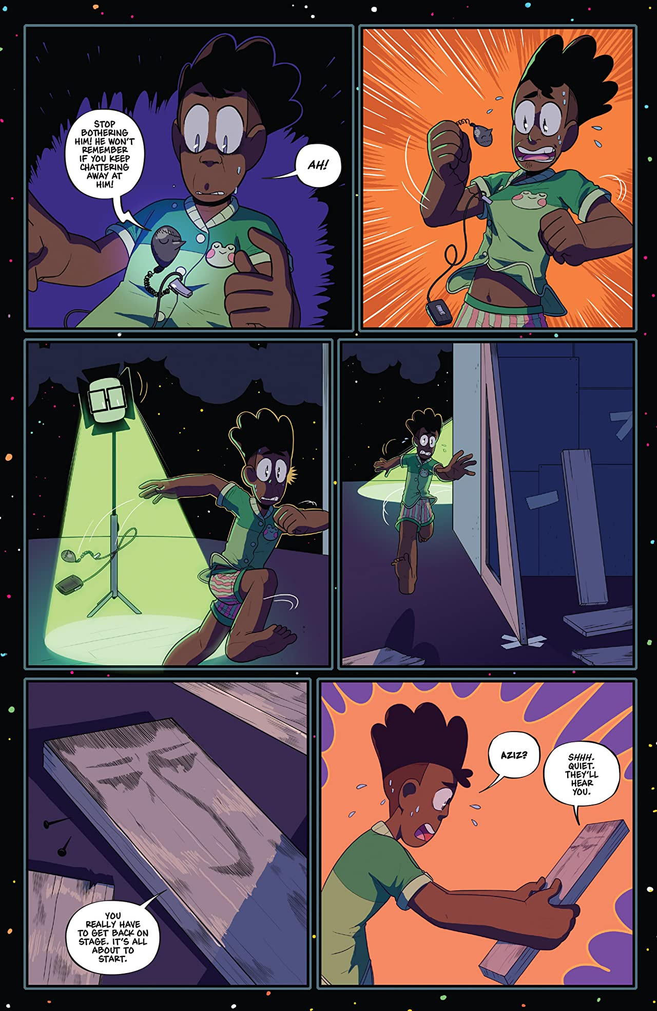 The Backstagers #6 (of 8)