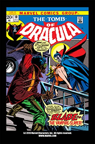 Tomb of Dracula (1972-1979) #10
