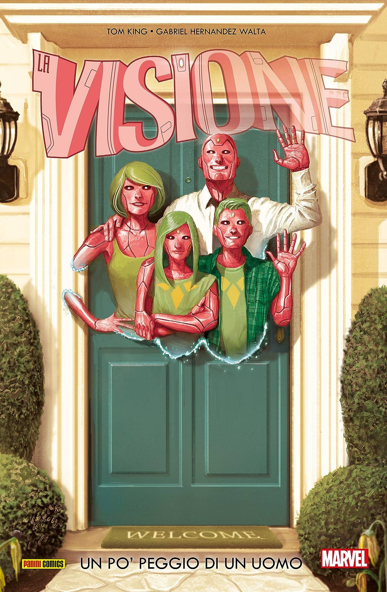Visione Vol. 1: Un Po' Peggio Di Un Uomo