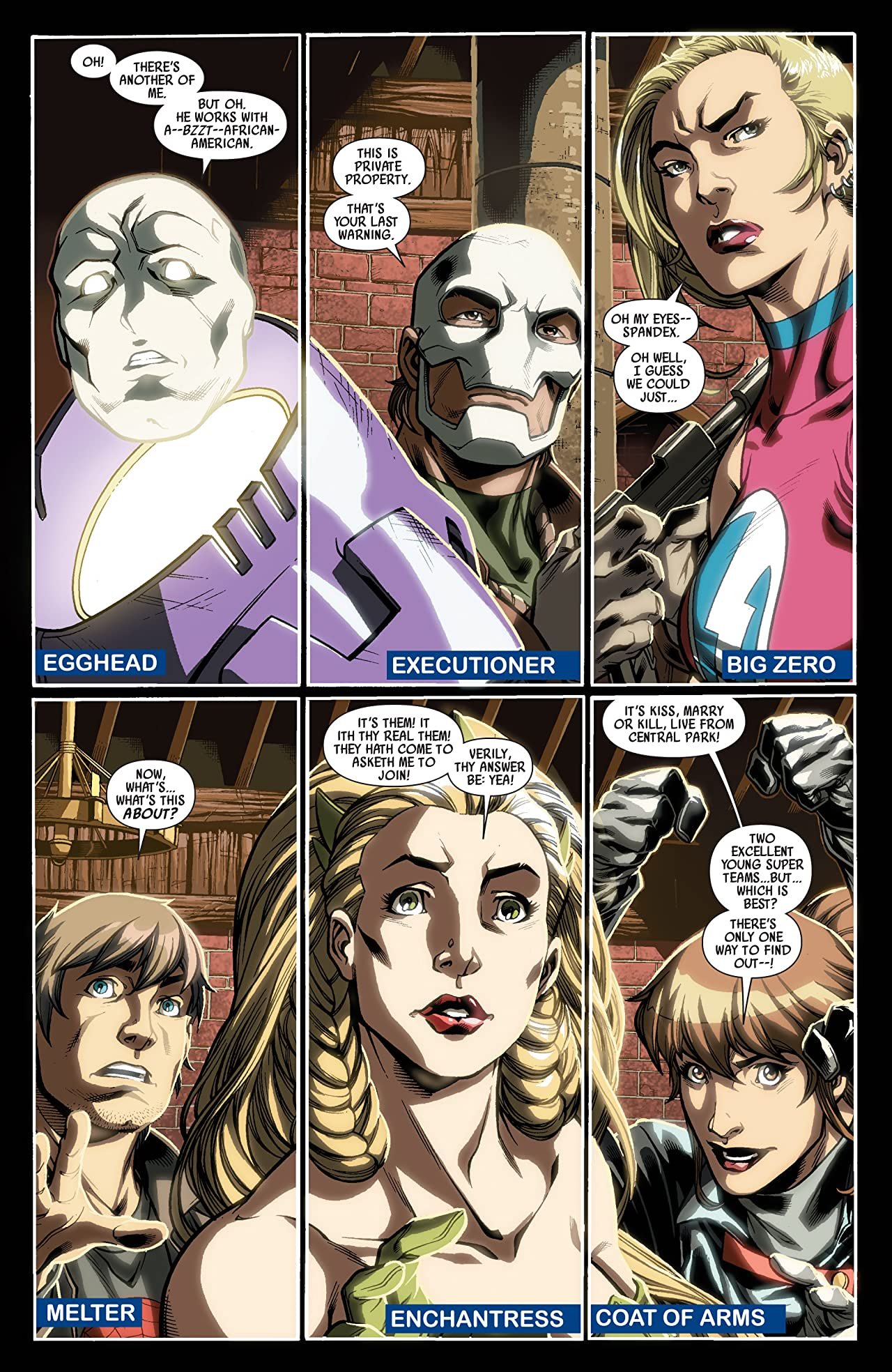 Dark Reign: Young Avengers #2 (of 5)