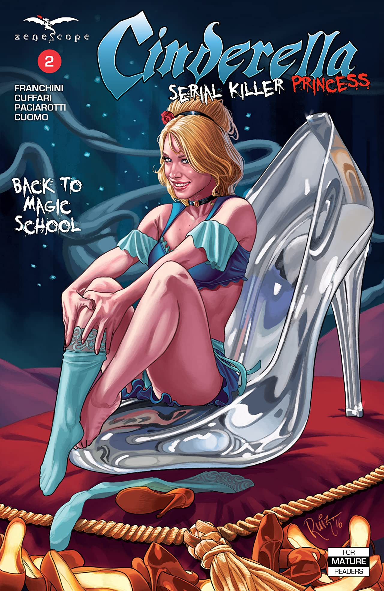 Cinderella: Serial Killer Princess #2