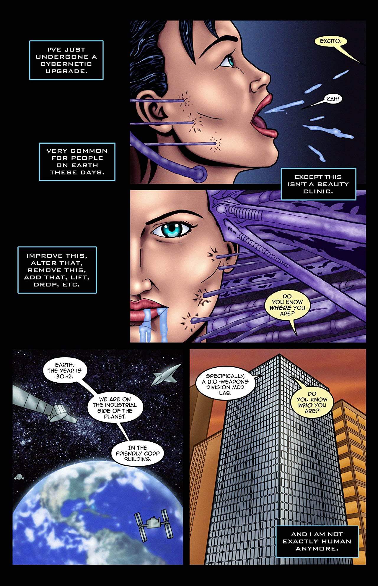 Sage Escape: Escape From Earth #1