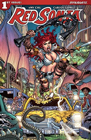 Red Sonja Vol. 4 #1