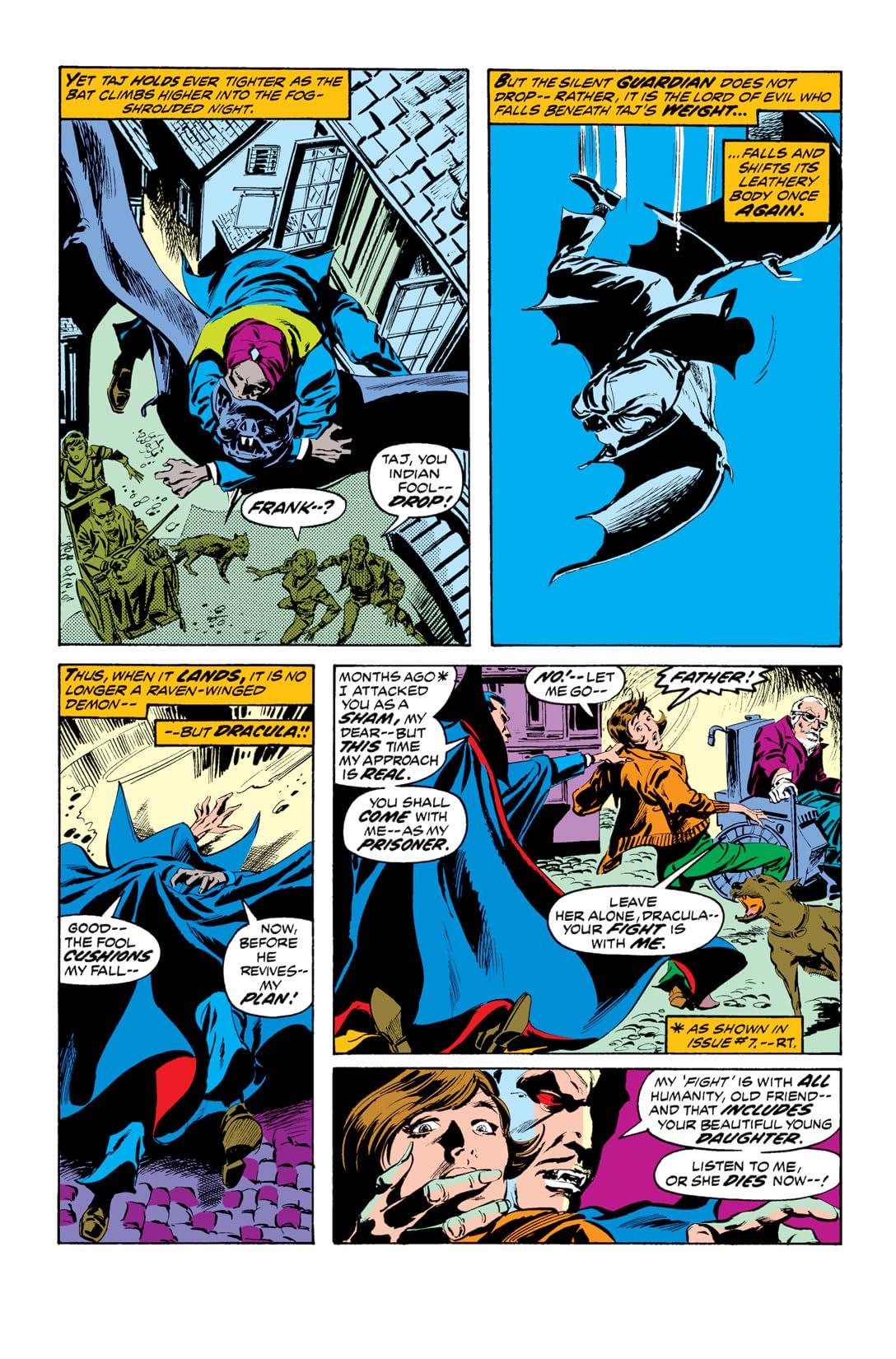 Tomb of Dracula (1972-1979) #12