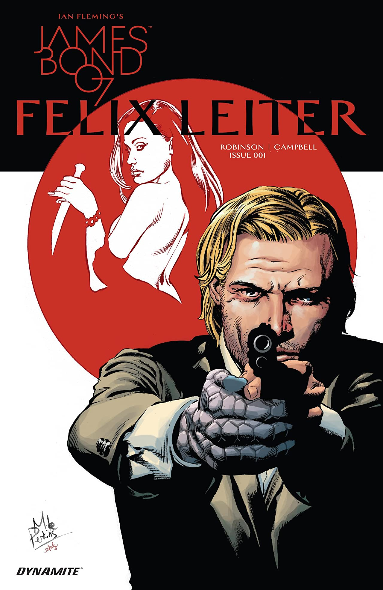 James Bond: Felix Leiter (2017) #1 (of 6)