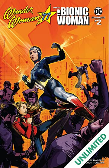 Wonder Woman '77 Meets The Bionic Woman #2