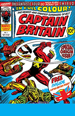 Captain Britain (1976-1977) #1