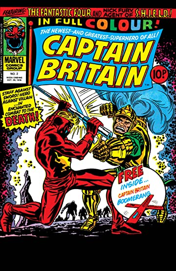 Captain Britain (1976-1977) #2