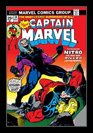 Captain Marvel (1968-1979) #34
