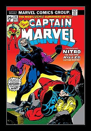 Captain Marvel (1968-1979) No.34