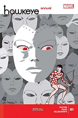 Hawkeye (2012-2015) Annual #1