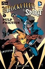 Rocketeer/The Spirit: Pulp Friction! #1
