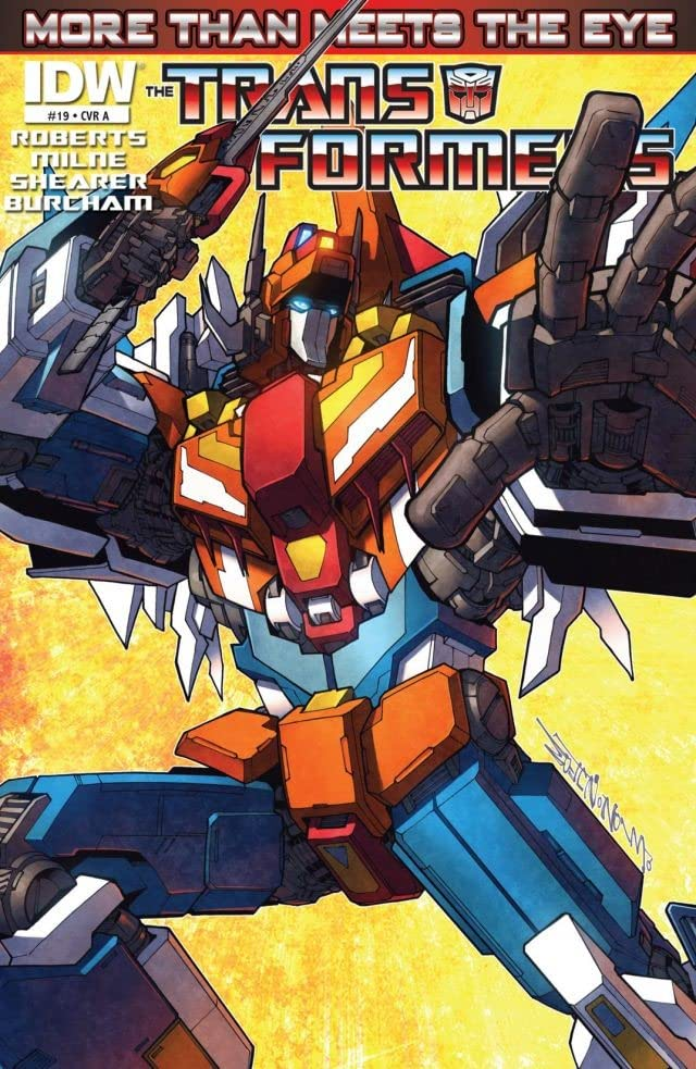 Transformers: More Than Meets the Eye (2011-) #19