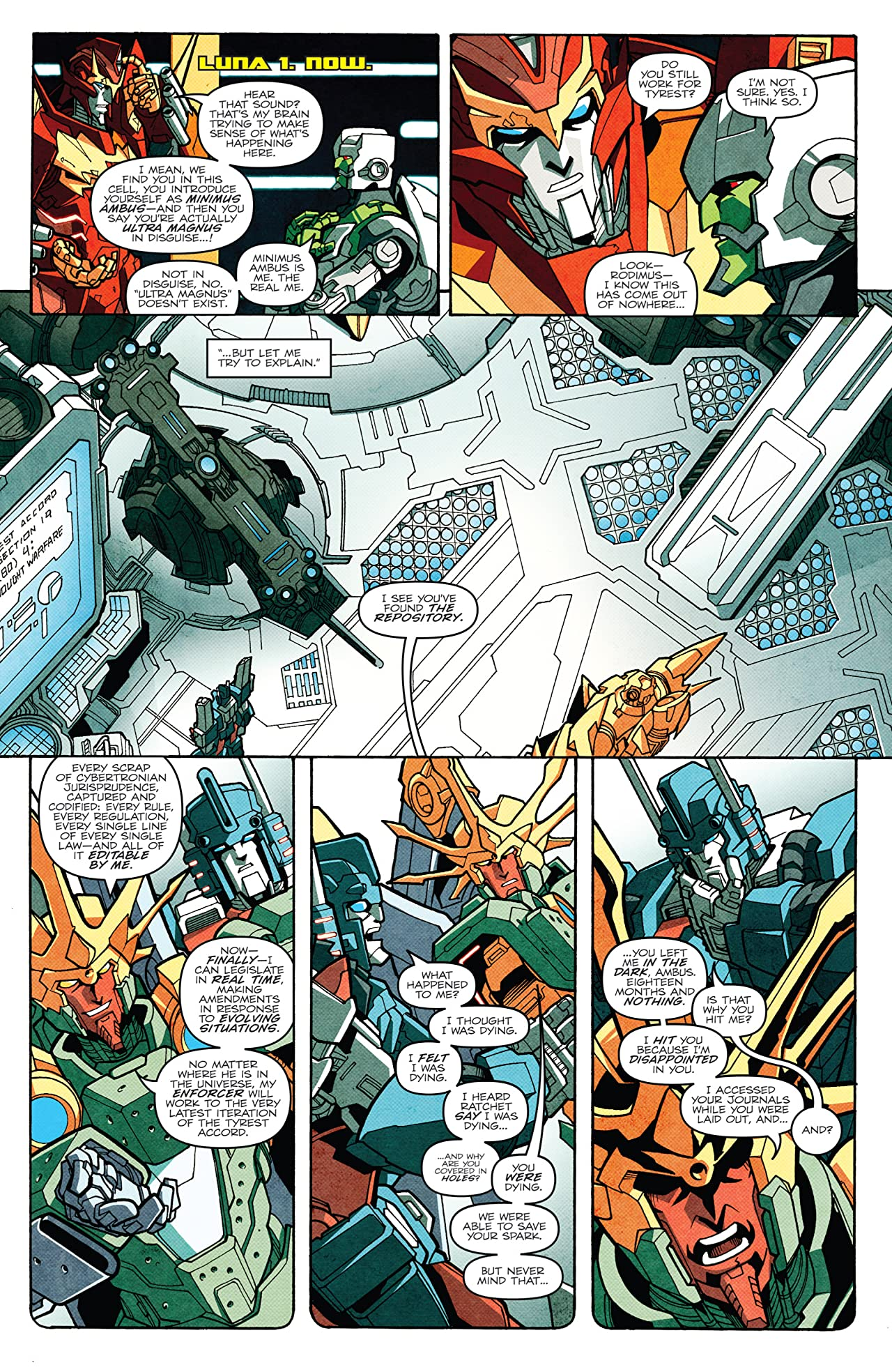 Transformers: More Than Meets the Eye (2011-2016) #19
